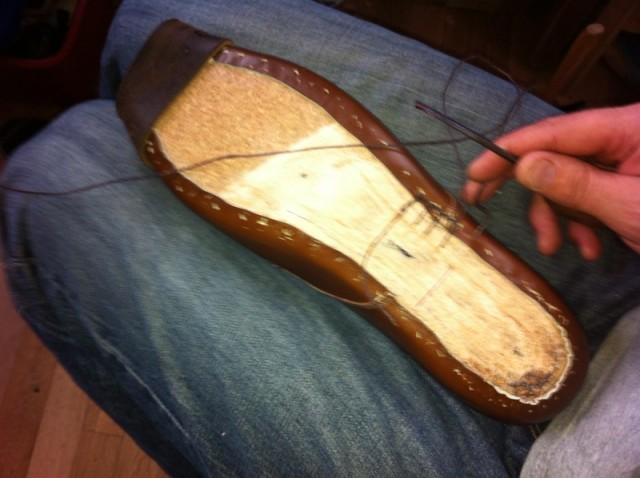 heel-stitching